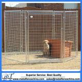 Painel modular soldado do canil do cerco do animal de estimação do fio com painel das portas