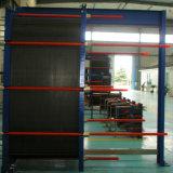 Échangeur de chaleur industriel titanique de bâti d'application de haute performance marine d'eau de mer