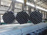 Hete Ondergedompelde ASTM A53 BS1387 galvaniseert Pijp met het Eind van de Draad
