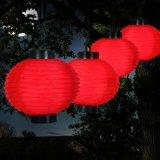 Angeschaltene chinesisches Laterne-Licht-multi Farben-Solarpartei