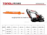 Cilindro de /Hydraulic do cilindro do braço Dh150-7 da máquina escavadora de Doosan