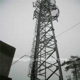 Гальванизированная трубчатая башня связи 3 ног