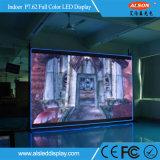 P10 interno reparado anunciando a tela de indicador do diodo emissor de luz