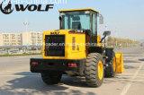 De Lader van het Wiel van de Wolf van de Apparatuur van de bouw 3ton voor Verkoop
