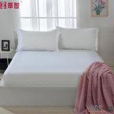 100%年綿の寝具のホーム織物、合われたシートの