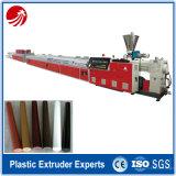 Corrimão do PVC do polímero do tufão que fazem a máquina