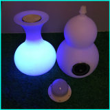 Haut-parleur illuminé Lighitng Cube Vase Design avec haut-parleur Bluetooth avec lampe