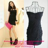Elastic smerlato Lace Fabric per Wedding Dress e Garments