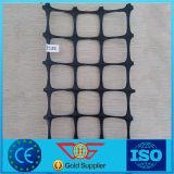 Plastic pp Tweeassige Geogrid voor de Bescherming van de Helling en de Techniek van het Ballastbed