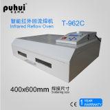 Horno del flujo del aire caliente, horno de escritorio del flujo, horno del flujo del LED SMT BGA, máquina automática Puhui T962c del horno el soldar de flujo