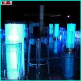 Vector al aire libre iluminado bloque iluminado muebles del pilar del resplandor