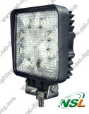 Qualité DEL Work Light 18W pour Offroad SUV Cars Rectangle Car DEL Flood Light DEL Working Light