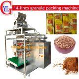 Líneas multi empaquetadora (DXD-480K) de las habas de la sal del azúcar de los gránulos