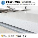 pierre de quartz d'épaisseur de 20mm pour des dessus de vanité de partie supérieure du comptoir