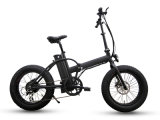 20 дюймов складывая электрический велосипед с тучной автошиной