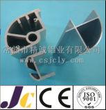 Personalizado industrial Alumínio Perfis de Alumínio Prata Oxidação (JC-P-81007)