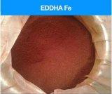 Pó eficaz elevado de Brown escuro do quelato do ferro do Fe EDDHA granulado