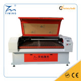 TM1610 Industrie de la mode Double tête Auto-alimentation Textile Machine à découper au laser pour tissu Coton Tissu Couteau en cuir Prix