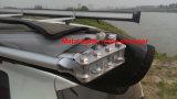 O Half-Round o mais quente toldo do telhado de um Foxwing de 270 graus para o dossel do carro