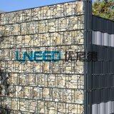19cmx35m Farbe Belüftung-Streifen-Privatleben-Bildschirm für Garten-Zaun