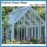 Vidrio Tempered claro para la construcción o el vidrio decorativo