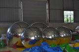 Grande sfera gonfiabile dello specchio del randello di sfera dello specchio del PVC come decorazione gonfiabile della fase