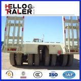 Aanhangwagen van de Vrachtwagen van het Bed van de TriAs van het Merk 60tons van de Aanhangwagen van Helloo de Lage
