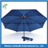 Fábrica Made Promotion Gift Folding Mini Windproof Umbrella para Sun e Rain Use