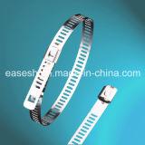 Acier inoxydable approuvé d'UL 304/316 serre-câble auto-bloquant