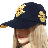 Chapeau populaire européen de casquette de baseball de la broderie 3D