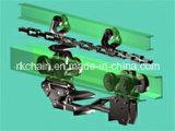 Corrente transportadora soldada industrial do rolo da engenharia de aço