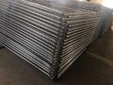 Os painéis da cerca da construção da ligação Chain fizeram em China o engranzamento Chain 57mm x 57mm x 2.7mm de 6FT x de 12FT