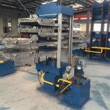 Máquina de vulcanización controlada PLC de la prensa del azulejo de goma