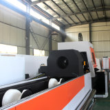 Quadrado do metal e máquina de estaca redonda do laser da fibra da tubulação