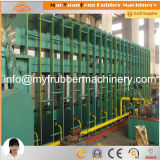 1600*8500 de grote Pers van de Machine van de Plaat van het Frame Rubber Vulcaniserende