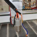 Máquina do router do CNC do gravador do metal de 5 linhas centrais