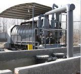 Poluição branca que recicl o equipamento ao combustível