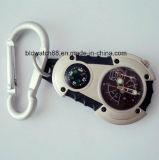 メンズCarabinerクリップ腕時計
