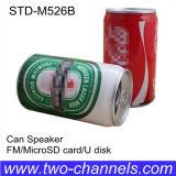 Altavoz de la dimensión de una variable de la poder de cerveza mini con la función micro del USB FM del SD conveniente para los regalos promocionales (STD-526B)