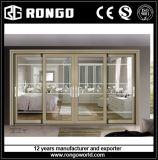 Alluminio 4 portelli di vetro di scivolamento dei comitati