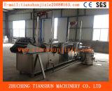Elektrische automatische Pommes-Fritesmaschine/bratenes Maschinen-/Nahrungsmittelhandelsaufbereiten Machinetszd-80