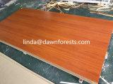 Placa do MDF da melamina para a mobília
