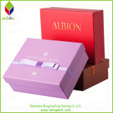 Коробка вахты подарка упаковки большой ценности бумажная с белым логосом