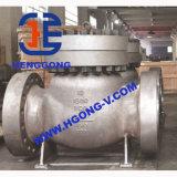 Valvola di ritenuta ad alta pressione della saldatura dell'acciaio di getto dell'oscillazione di API/JIS/DIN