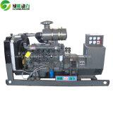 электрический тепловозный генератор 100kw с двигателем дизеля
