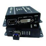 4k DVI Ergänzung der Faser-Ergänzung-(einzelne Faser/EinzelnMethode) DVI über der Faser obere End zur Übertragung 10gbps