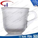 160ml Hete de Kleur van de vuursteen verkoopt de Mok van de Koffie van het Glas (CHM8125)