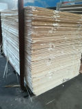 Contre-plaqué de pin de faisceau de peuplier de l'utilisation 5.2mm de Decrotation de construction
