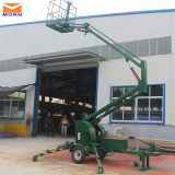 10m Trailing Lift Platform für Industrial Aerial Work