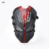 Airsoft protector que tira la máscara táctica del depredador de la cara llena